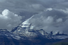 Qi Feng Gang Renbo. Located in Ali area, 6714 meters above sea level. Tibet, China Royalty Free Stock Photo