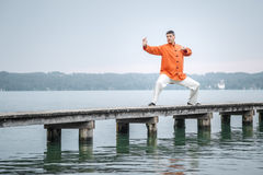 Free Qi-Gong Early Morning Royalty Free Stock Photography - 32476797