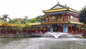 Qian xiang cloister at baomo garden, china Royalty Free Stock Photography