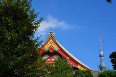 Qiancao tempel Arkivfoto