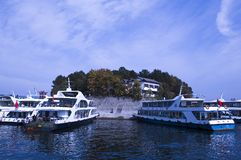 QIANDAO LAKE Royalty Free Stock Photos