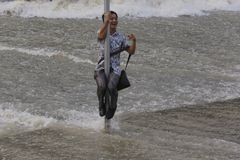 qianjiang tide in china Royalty Free Stock Photo