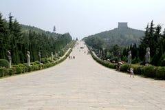 Qianling Mausoleum in Xian city Stock Image