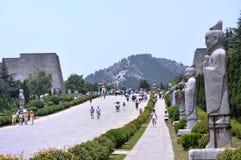 Qianling mauzoleum Zdjęcia Royalty Free