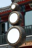 qianmen街道 库存照片