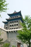 Qianmen archery tower Stock Photos