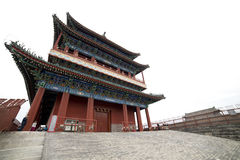 Qianmen,famous gate located at the south of Tiananmen Square in Stock Image