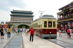 Qianmen in Peking Royalty-vrije Stock Afbeeldingen