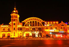 Qianmen Street in China Royalty Free Stock Images