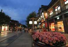 Qianmen Street Royalty Free Stock Images
