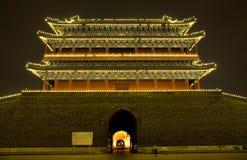 Qianmen Zhengyang Gate Tiananmen Beijing Royalty Free Stock Images