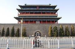 Qianmenpoort, Peking royalty-vrije stock afbeelding