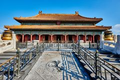 Qianqinggong Palace Of Heavenly Purity Forbidden Royalty Free Stock Photos