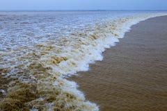 Qiantang Tide Stock Photos