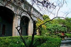 Qiantangzhizhai博物馆 免版税图库摄影
