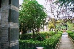 Qiantangzhizhai-Museum Stockbild