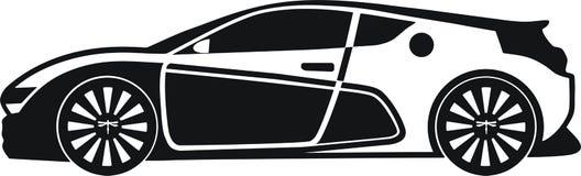 Qiantu sport, bil, elkraft, porslin, medel stock illustrationer