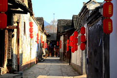 Qianyang ancient town  in China Stock Photo