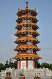 Qibao świątyni pagoda Fotografia Stock