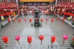 Qibao świątynia Zdjęcie Stock