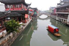 Qibao ancient town Royalty Free Stock Photos