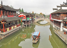 QiBao old town Royalty Free Stock Photography