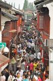 QiBao oude stad stock foto's
