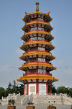 Qibao Temple Pagoda Stock Photography