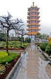 Qibao Temple Royalty Free Stock Photo