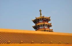 Qibao Temple Pagoda Royalty Free Stock Photo