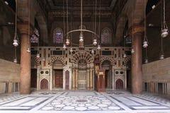 Qibla Iwan清真寺 库存图片
