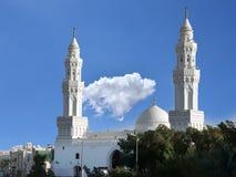 Qiblatain-Moschee in Medina, Saudi-Arabien stockbilder