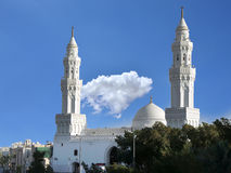 Qiblatain Mosque in medina, saudi arabia Stock Images
