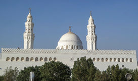 Qiblatain Mosque in medina, saudi arabia Royalty Free Stock Image