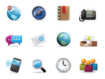 Qicon | Web and Communication icon Stock Photos