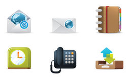 Qicon Web icons 3 Royalty Free Stock Images
