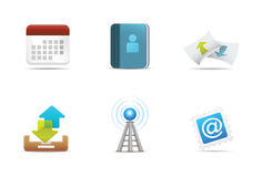 Qicon Web icons 5 Royalty Free Stock Image