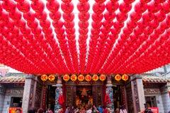 Qijin mazu świątynia zdjęcia royalty free