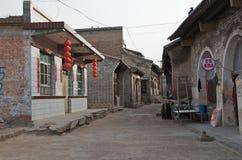 Qikou antyczny miasteczko Zdjęcie Royalty Free
