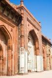 qila för purana för delhi fort gammal Arkivfoto