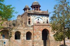 qila för purana för delhi fort gammal Arkivbilder