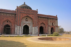 Qila-i-kuna Mosque, Purana Qila, New Delhi Stock Photos