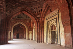 Qila-i-kuna Mosque, Purana Qila, New Delhi Royalty Free Stock Photography