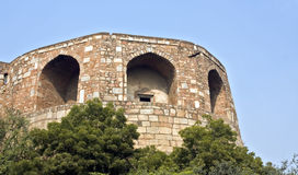 qila purana форта delhi старое Стоковые Фотографии RF