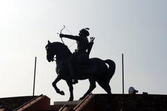 Qila Rai Pithora, New Delhi Stock Foto