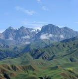 Qilian berg royaltyfri fotografi