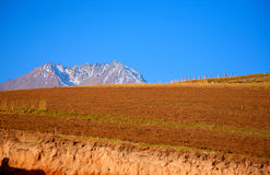 Qilian mountain landscapes. Qilian mountains is one of the major mountain range in China, is located in the northeast of qinghai province and gansu province in Stock Photos