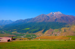 Qilian mountain landscapes. Qilian mountains is one of the major mountain range in China, is located in the northeast of qinghai province and gansu province in Royalty Free Stock Photos
