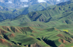 Qilian mountains Stock Photo