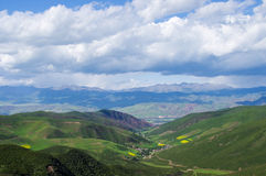 Qilian mountains Royalty Free Stock Image